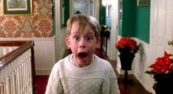 Home Alone boy screaming during most wonderful time of the year