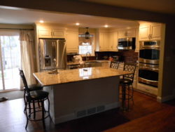 "An ""after"" photo of Danelle's remodeled kitchen"