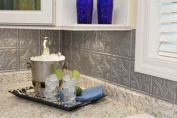 A backsplash is one of these 6 makeover ideas for less