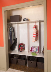 Fasade panels accentuate closet makeover